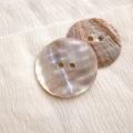 【丸型(定番)】あわび貝ボタン#00104 2穴35mm