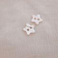 【星の形の 貝ボタン】アワビ貝 貝ボタン#bt133 2穴11.5mm
