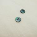 【丸型(染めボタン)】黒蝶貝 貝ボタン#00104 2穴10mm C/#L.BLUE