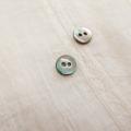 【丸型(定番)】黒蝶貝 貝ボタン#00150 2穴8mm