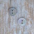 【丸型(定番 縄目)】茶蝶貝ボタン#00220 2穴11.5mm
