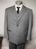 BBCO(ビビコ) スーツ (ジャケット ベスト パンツ3点セット) ABO-13802 カラー1