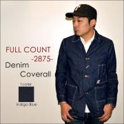 """FULLCOUNT フルカウント、""""2875""""、DENIM COVERALL デニムカバーオール [アウター]"""