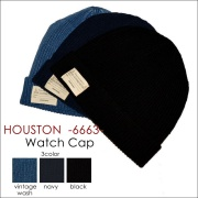 "HOUSTON ヒューストン、""6663""、WATCH CAP、ワッチキャップ [帽子]"