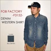 """FOB��FACTORY��""""F3152""""���ǥ˥०��������� [L/S�����]"""