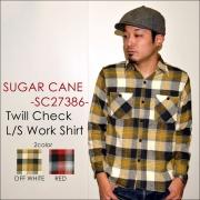 "���Υ����ץ饤�� SUGAR CANE ���奬��������""SC27386""���ĥ�������å��������� [L/S�����]"