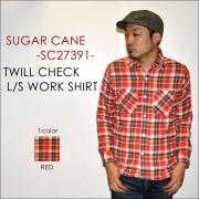 "���Υ����ץ饤�� SUGAR CANE ���奬��������""SC27391""���ĥ�������å��������� [L/S�����]"