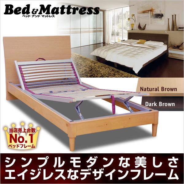 ユーロ安セール シングル JN3402KF 可動ウッドスプリング 木製ベッド 送料無料