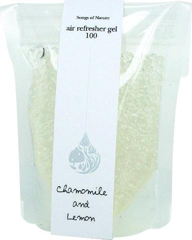 air refresher gel エアー リフレッシャー ジェル100 カモミール&レモン