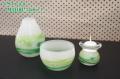 緑 ガラス かわいい 仏具