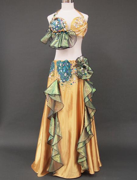 ゴールドベリーダンス衣装2 ミラーナ