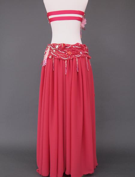 ピンクコサージュ ベリーダンス衣装6 ミラーナ