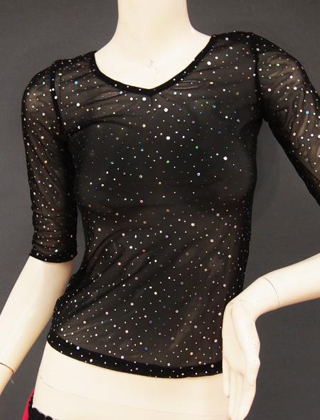 シースルーラメトップス2 ミラーナベリーダンス衣装