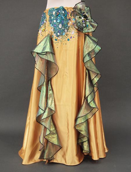 ゴールドベリーダンス衣装4 ミラーナ