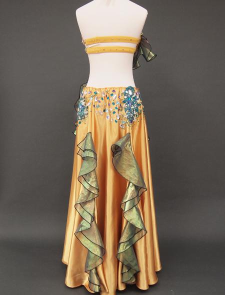 ゴールドベリーダンス衣装7 ミラーナ
