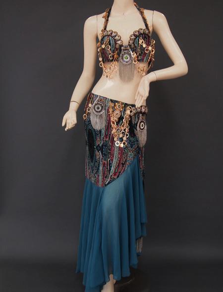 トライバル1 ミラーナベリーダンス衣装