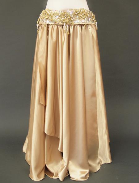 ゴールドベリーダンス衣装 スカート