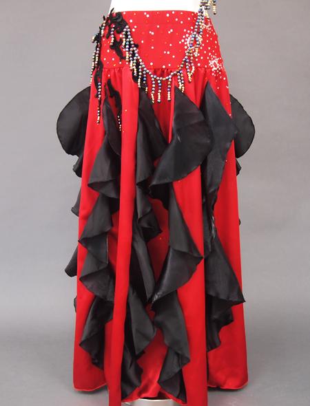 赤黒ベリーダンス衣装3 ミラーナ