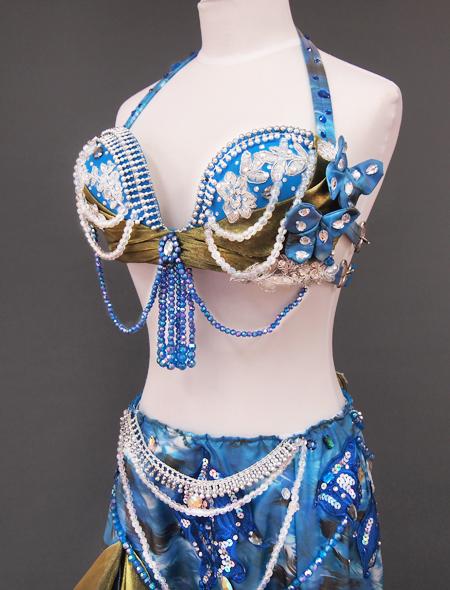 ブルーリボン4 ミラーナベリーダンス衣装