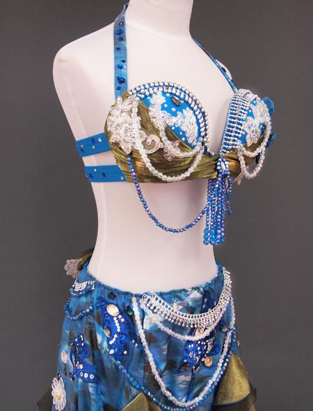 ブルーリボン5 ミラーナベリーダンス衣装