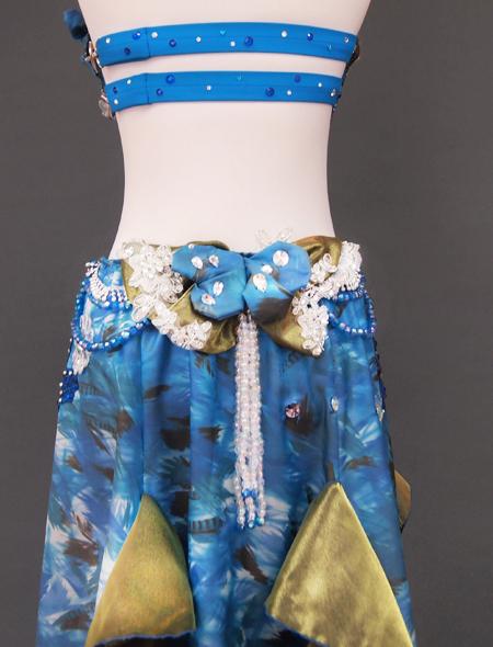 ブルーリボン7 ミラーナベリーダンス衣装