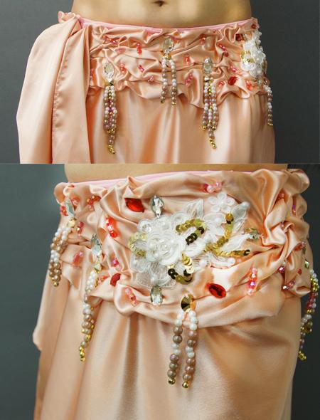 チェリーピンクベリーダンス衣装3 ミラーナ