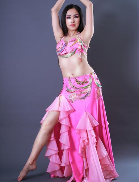 鳳凰モチーフ1 ミラーナベリーダンス衣装