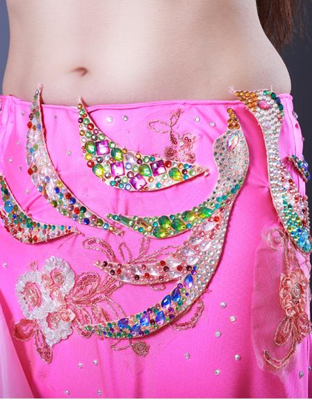 鳳凰モチーフ6 ミラーナベリーダンス衣装