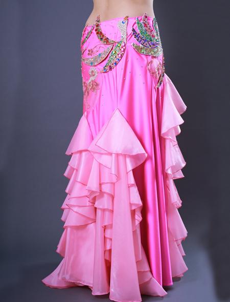 鳳凰モチーフ7 ミラーナベリーダンス衣装