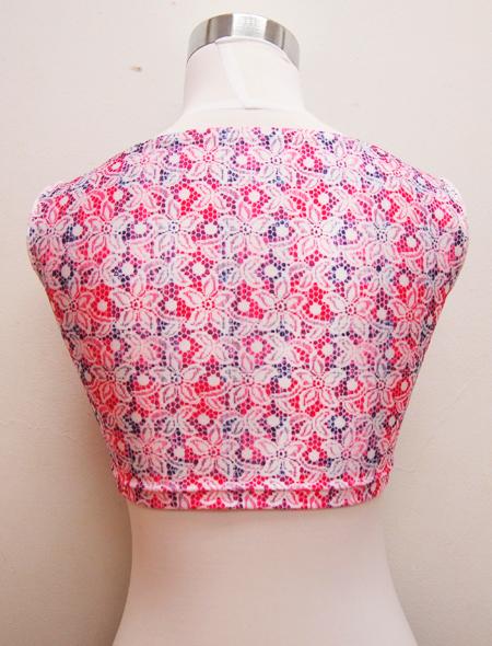 ピンクトップス3 ミラーナベリーダンス衣装