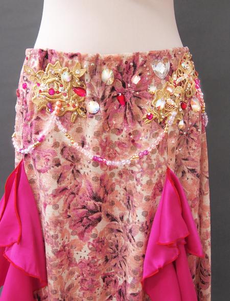 ピンクファンタジーベリーダンス衣装3 ミラーナ