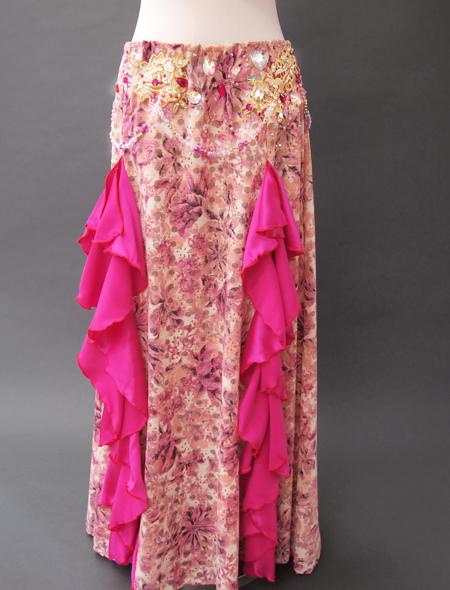 ピンクファンタジーベリーダンス衣装4 ミラーナ