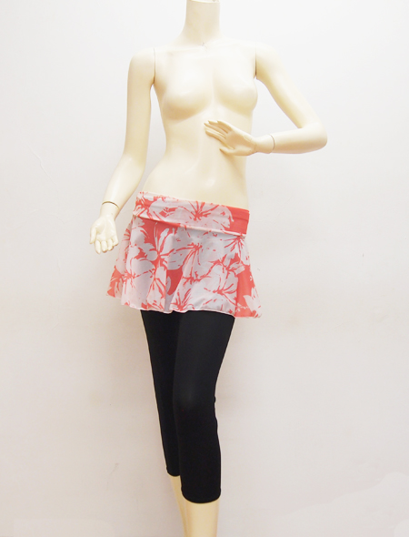 大柄ピンクスカート2 ミラーナベリーダンス衣装