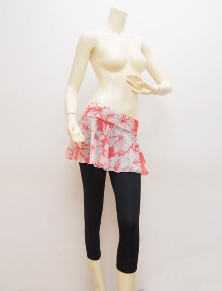 大柄ピンクスカート1 ミラーナベリーダンス衣装