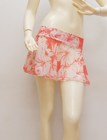 大柄ピンクスカート3 ミラーナベリーダンス衣装