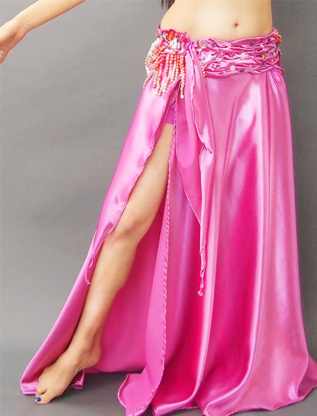 スモーキーピンクベリーダンス衣装5 ミラーナ