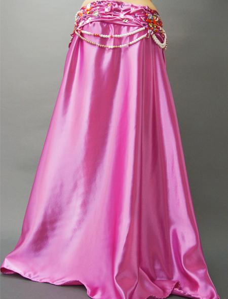 スモーキーピンクベリーダンス衣装4 ミラーナ
