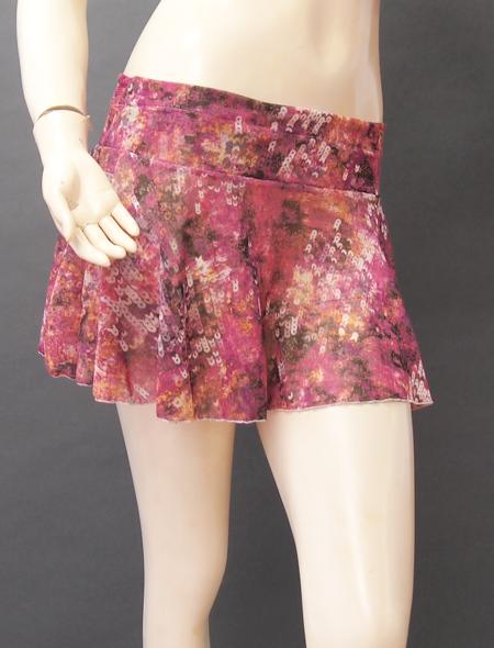 スパンコール柄スカート3 MiLLANAベリーダンス衣装