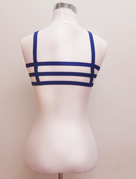 青トップスミラーナベリーダンス衣装2