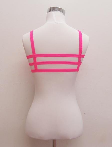 ピンクトップス2 ミラーナベリーダンス衣装