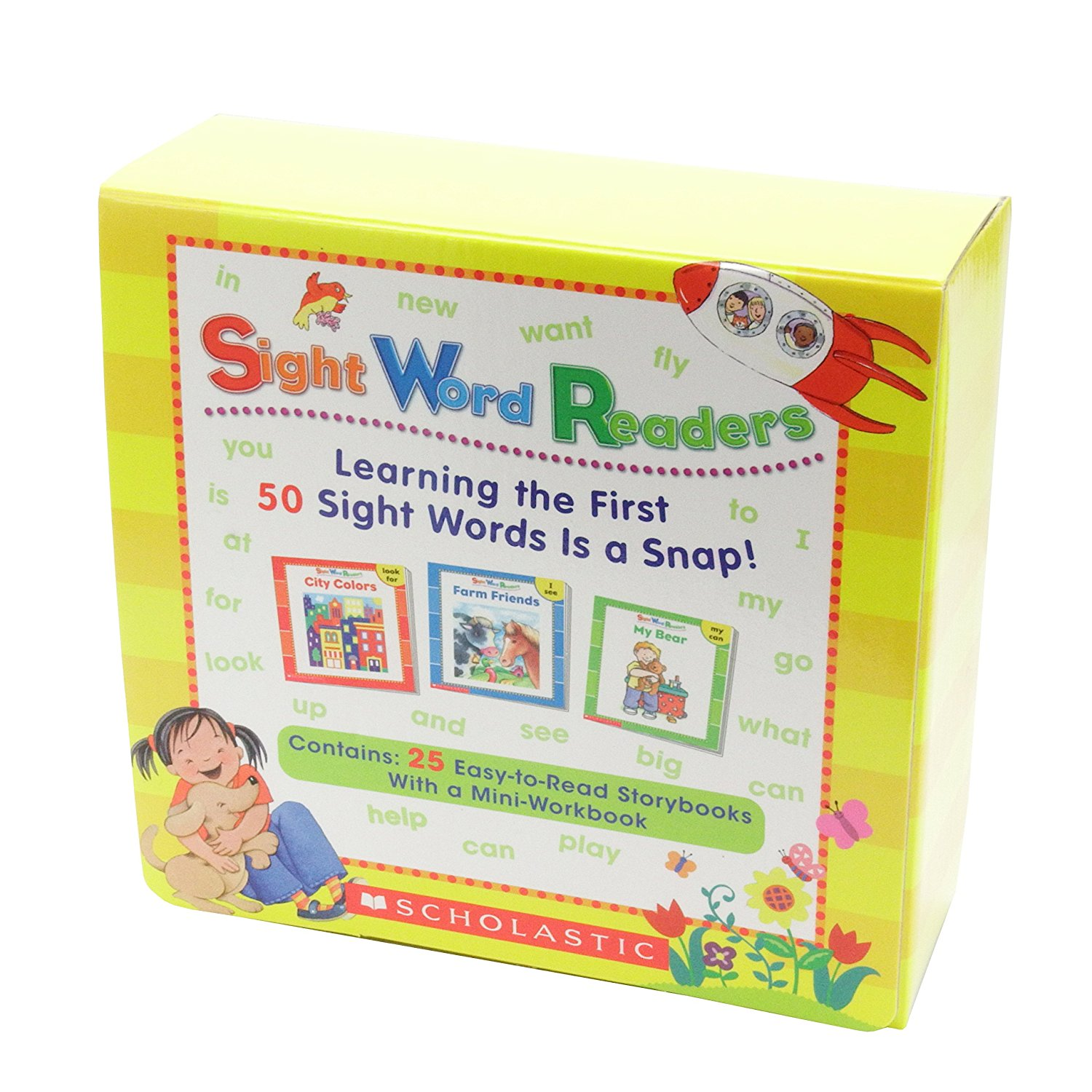 SIGHT WORD READERS BOX SET WITH CD B品