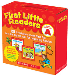 FIRST LITTLE READERS PARENT PACK A WITH CD (25 BOOKS & 1CD)
