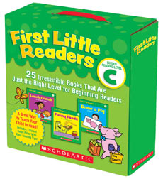 FIRST LITTLE READERS PARENT PACK C WITH CD (25 BOOKS & 1CD)