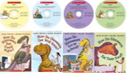 "LIMITED COLLECTOR'S EDITION ""HOW DO DINOSAURS ( 4 BOOKS & 4 CDS)"""