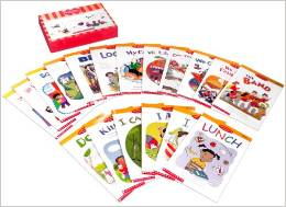 HIGH FREQUENCY READERS BOOKS SET ( (18 BOOKS,FLASH CARDS & 1CD)
