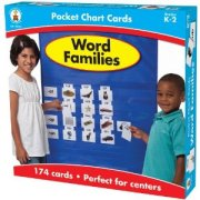 WORD FAMILIES��POCKET CART CARDS