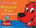 CLIFFORD PHONICS FUN READING PROGRAM PACK3 (10 BOOKS & 1CD)