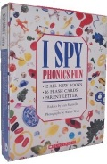 I SPY PHONICS FUN BOX SET (12 BOOKS,FLASH CARDS & 1CD)