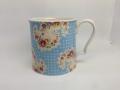 【Mug】Antique Paisley Blue