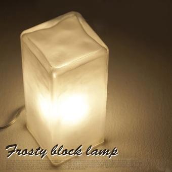 フロスティブロックランプ